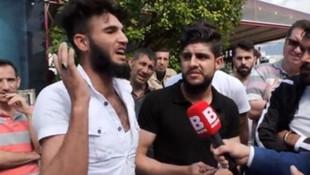 Suriyeli sığınmacı: ''Kafa kesmek istiyorum''