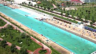 Büyükerşen müjdeyi verdi; Eskişehir'de plaj sezonu açılıyor