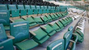 Bursaspor'un stadında 1.5 milyon TL'lik zarar