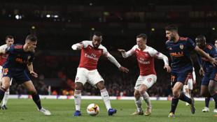 Arsenal, UEFA Avrupa Ligi'nde finale göz kırptı