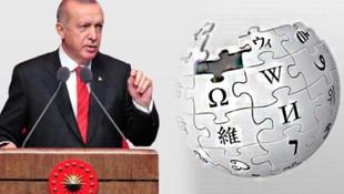 Erdoğan açıkladı, gözler Wikipedia'ya çevrildi