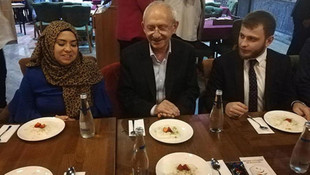 Kılıçdaroğlu imam hatiplilerle iftar yaptı