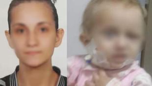 Genç kadından 1,5 yaşındaki bebeğe korkunç işkence