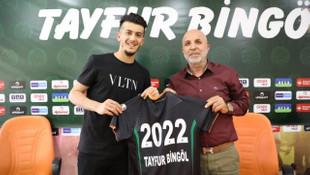 Aytemiz Alanyaspor Tayfur Bingöl ile sözleşme imzaladı