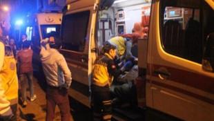 İstanbul'da Suriyelilerin kaldığı bina çöktü: Yaralılar var