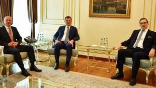 İBB Başkanı Ekrem İmamoğlu'na Koç'tan ziyaret