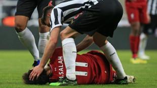 Mohamed Salah, Barcelona maçında yok