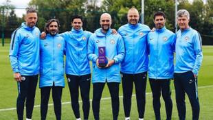 Pep Guardiola Premier Lig'de ayın teknik direktörü oldu