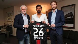Kerem Demirbay Bayer Leverkusen'de