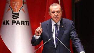 Erdoğan'dan AB'ye rest: ''Kopenhag değil Ankara kriterleri''