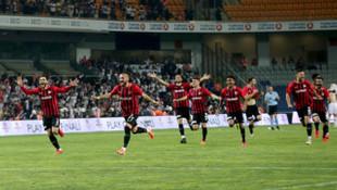 Gazişehir Gaziantep penaltıları sevdi