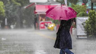 Bayram havasına veda! Doğu'dan Batı'ya tüm illerde sağanak yağış var!