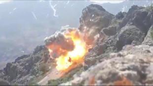Pençe Harekatı'nda PKK hedeflerine bomba yağdırıldı