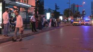 Beşiktaş'ta otomobilden para saçıldı