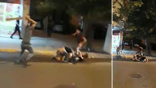 İstanbul'da Suriyelilerin dehşete düşüren kavgası