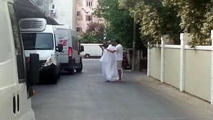 Sokakta çıplak erkek alarmı