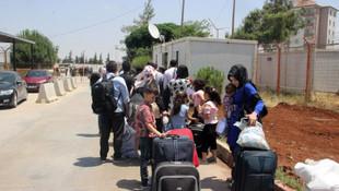 Bayram için Suriye'ye giden Suriyelilerden kaçı geri döndü ?