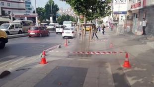 İstanbul'da yeraltından çıkan duman paniğe yol açtı