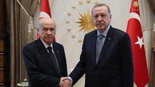 Erdoğan - Bahçeli görüşmesinin detayları belli oldu