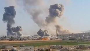 ''İdlib'de koordinatları Türkiye verdi Rus uçakları vurdu''