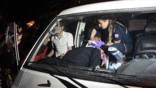 Bolu'da can pazarı ! Hamile kadını itfaiye kurtardı