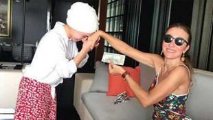 Çalışanına el öptürüp dolar veren Bakan eşinden yeni açıklama