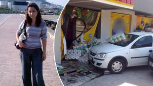 Reyon görevlisi kadının feci ölümü