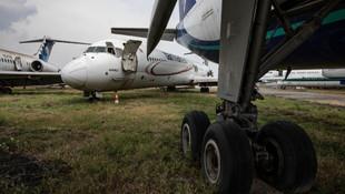 Atatürk Havalimanı'ndaki hurda uçaklar böyle görüntülendi