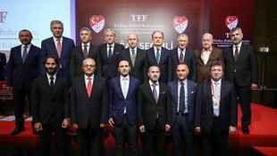 Türkiye Futbol Federasyonu Yönetim Kurulu görev dağılımı yaptı