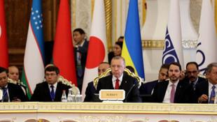 Erdoğan Tacikistan'da: Yeni oldubitti gayretlerini reddediyoruz