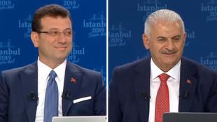 Binali Yıldırım - Ekrem İmamoğlu canlı yayınında adaylardan ilginç sorular