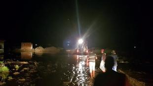 Kırıkkale-Yozgat karayolu sel nedeniyle kapandı