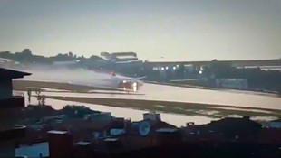 Yeni havalimanı göle döndü, uçaklar suya indi !