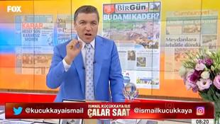 FOX TV İsmail Küçükkaya'nın o görüntüleri için dava açıyor
