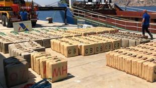 Emniyet haber verdi, uluslararası sularda 12 ton esrar yakalandı