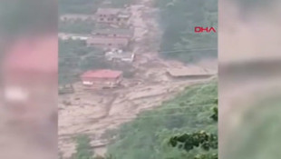 Trabzon'daki sel felaketinden yeni görüntüler ! ''Böyle bir afet yok''