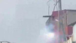 Sultangazi'de elektrik kablolarındaki patlama paniğe neden oldu