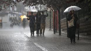 Meteoloroji birçok il için uyardı: ''Kuvvetli yağış geliyor''