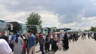 Sivaslılar Yıldırım'a destek için 100 otobüsle geliyor