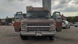 Turgut Özal'ın karavana dönüştürülen ambulansı