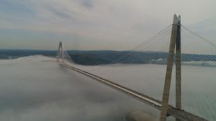 Yüksek Hızlı Tren Yavuz Sultan Selim Köprüsü'ne geliyor