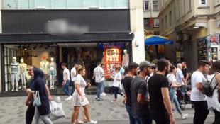 İstiklal Caddesi'nde faciaya ramak kaldı