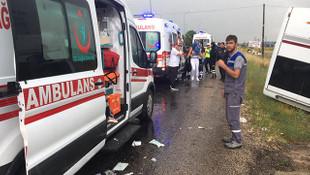 Nevşehir'de can pazarı: 27 yaralı!