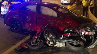 Üsküdar'da feci kaza: 1 ölü, 2 yaralı