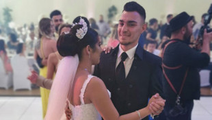 Milli futbolcu Kaan Ayhan evlendi
