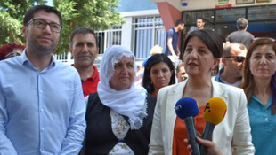 HDP Eş Genel Başkanı Pervin Buldan oyunu kullandı
