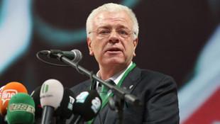 Bursaspor'da Ali Ay yönetimi ibra edilmedi