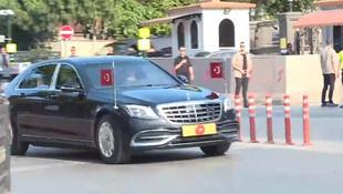 Cumhurbaşkanı Erdoğan Vahdettin Köşkü'ne geldi