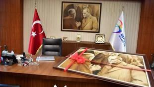 İndirilen Atatürk tablosu İBB'ye geri dönüyor