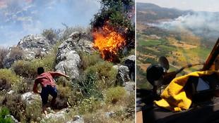 Balıkesir'de yangın alarmı